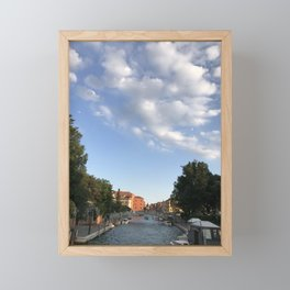From A Bridge Framed Mini Art Print