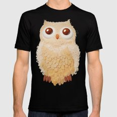 Owlmond 1 X-LARGE Mens Fitted Tee Black