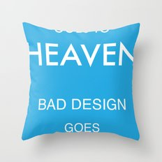 Good Design Throw Pillow