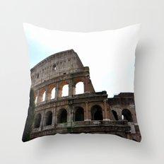 Coliseum Throw Pillow