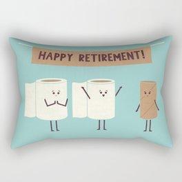 Over This Crap Rectangular Pillow