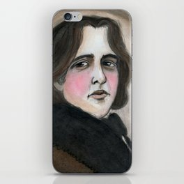 The Importance of Being Oscar Wilde iPhone Skin