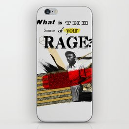 Rage iPhone Skin