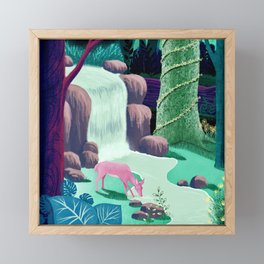 The Whispering Waters of Eventide Vale Framed Mini Art Print