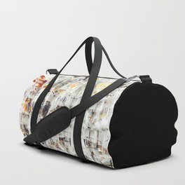 At The Goldfish Market Duffle Bag