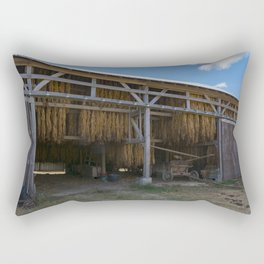 Amish Barn Rectangular Pillow