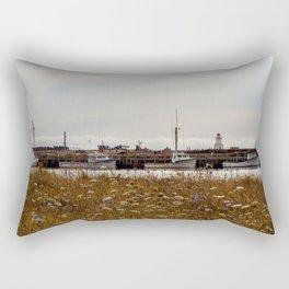 Aligned (color) Rectangular Pillow