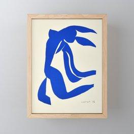 Blue Nude Dancing - Henri Matisse Framed Mini Art Print