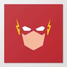 Flash Superhero Canvas Print