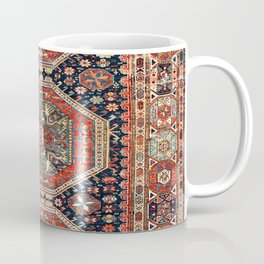 Kuba Sumakh Antique East Caucasus Rug Print Coffee Mug