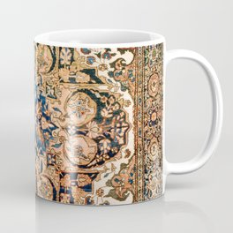 Ferahan Arak  Antique West Persian Rug Print Coffee Mug