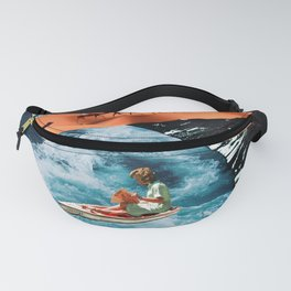 Worlds Colliding Fanny Pack