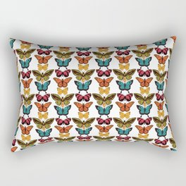Butterfly Spectrum: pattern Rectangular Pillow