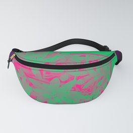 Neon Greenery #society6 #succulent Fanny Pack