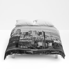 Los Angeles from the 110 Comforters