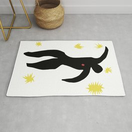 Henri Matisse, Icarus (Icare) from Jazz Collection, 1947, No Background Artwork, Men, Women, Youth Rug