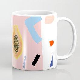Shapes and Fruits Coffee Mug