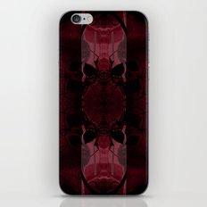 Transmitting Craniums [Red] iPhone & iPod Skin