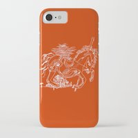 catcher in the rye iPhone & iPod Cases featuring The Catcher In The Rye (Red) by Jeremy Jon Myers