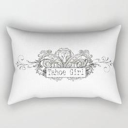 Vintage Gray Wolf Rectangular Pillow