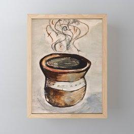 Fck Framed Mini Art Print