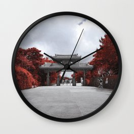 Shuri Gate Wall Clock