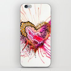 Golden Love iPhone & iPod Skin