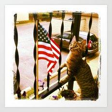 i pledge allegiance... Art Print