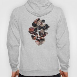 Autumn to winter dry leaves Hoody