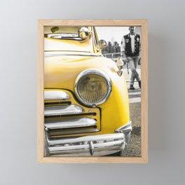 rock n' roll attitude Framed Mini Art Print