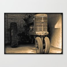 It's Tractor Time Canvas Print