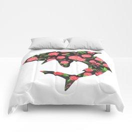 Floral Shark Comforters