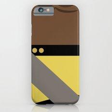 Worf - Minimalist Star Trek TNG The Next Generation - Enterprise 1701 D - startrek - Trektangles iPhone 6s Slim Case