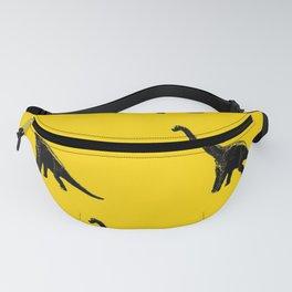 Yellow Dino Fanny Pack