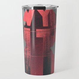 NEW YORK AFRO CITY Travel Mug