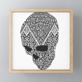 Individual Thought Patterns by Fred Gonzalez Framed Mini Art Print