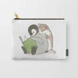 With a cat (2) Carry-All Pouch