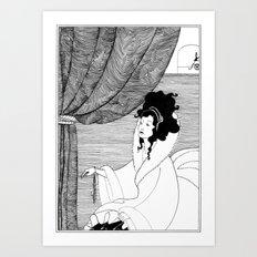 Art Nouveau Posters: The Arrival Art Print