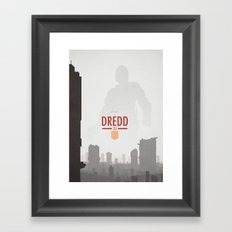Dredd (2012) Framed Art Print