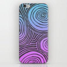 swirled  iPhone & iPod Skin