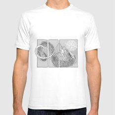 Slaying the Dragon MEDIUM Mens Fitted Tee White
