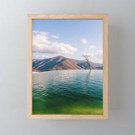 Lake in the Sky Framed Mini Art Print