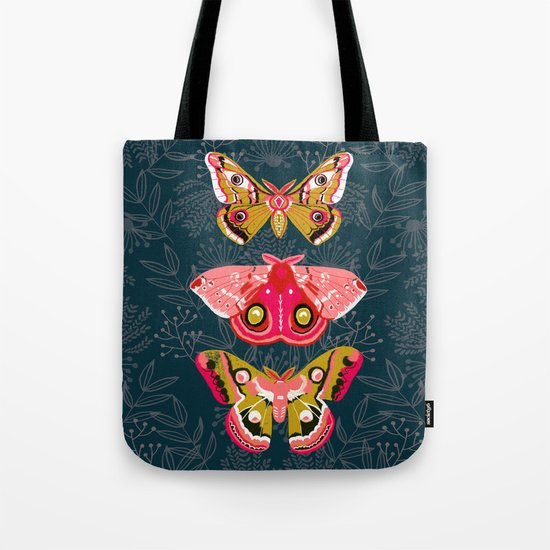 Lepidoptery No. 4 by Andrea Lauren Tote Bag