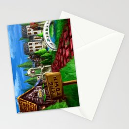 RPG Town Stationery Cards