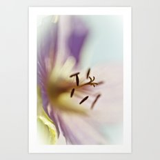 Lilac Blues Art Print