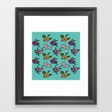 eleflo Framed Art Print