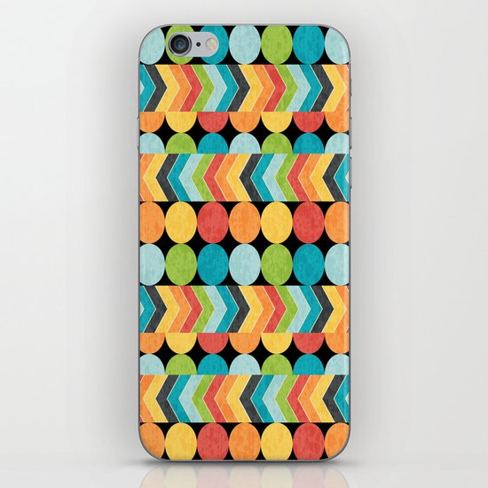 Retro Color Play iPhone & iPod Skin