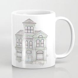 Green Italianate Victorian Coffee Mug