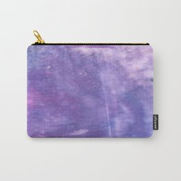 Ube abstract watercolor Carry-All Pouch