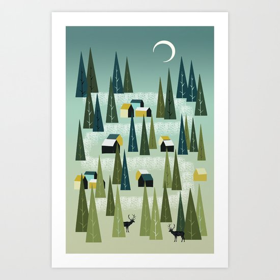 Take Me Home, Country Roads Art Print